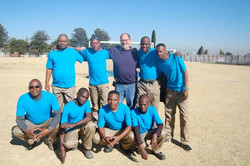 Ground Staff Soccer team