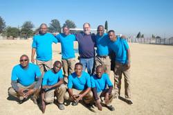 Ground Staff Soccer team