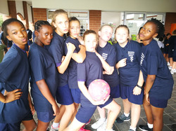 Under 13A Netball Tour Team Funny
