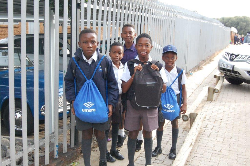Learners who have crossed the road