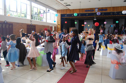 Belly dancing at Mothers Day tea!