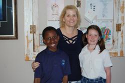 Miss Broodryk with Zweli Chiloane and Ka