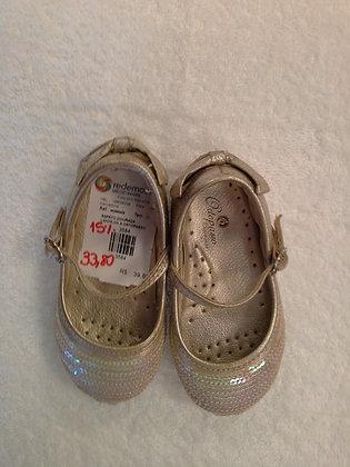 Sapato Ortopasso com lantejoulas, tam. 20