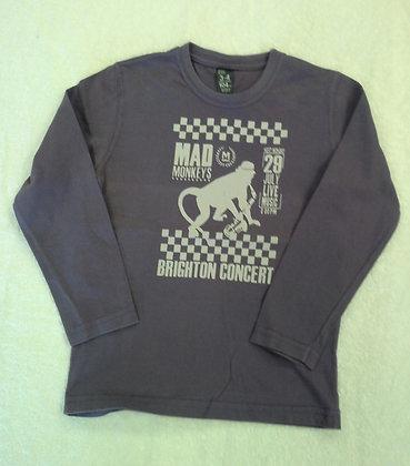 Camiseta Mad Monkeys Zara, tam. 3 a 4 anos