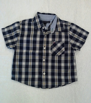 Camisa Tommy Hilfiger, tam. 6 a 12 meses