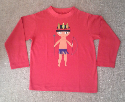 Camiseta BB Moderno, masculina, tam. 4 anos