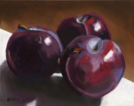 Three Plums - SOLD