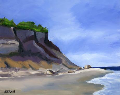 Block Island Cliffs