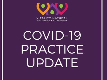 COVID-19 PRACTICE UPDATE
