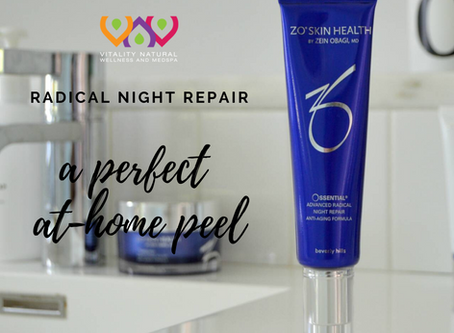 Radical Night Repair as an At-Home Peel Option