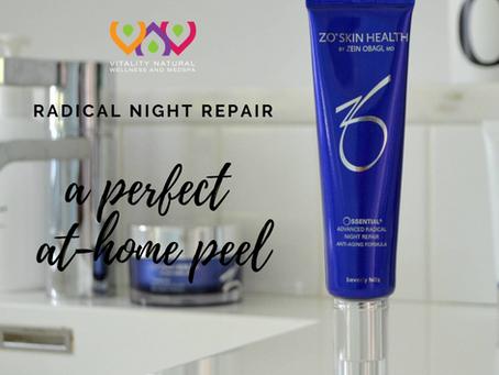 Radical Night Repair as an At-Home Peel Option