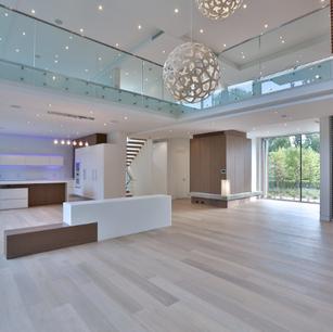Main Floor and Kitchen