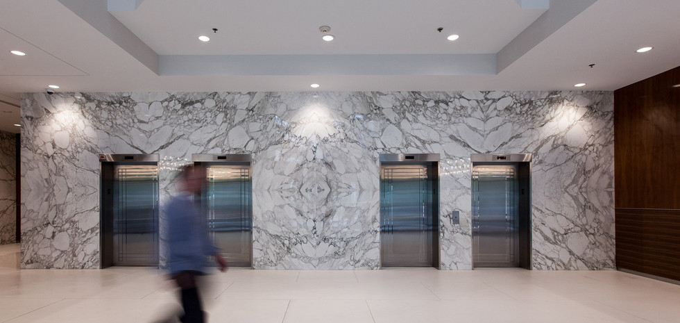 Main Floor Elevator Area