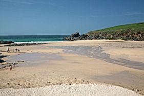 Trevone beach holidays