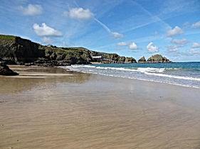 Mother Iveys beach Cornwall
