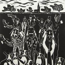 """Country Hunt"", Lino-cut, 35 x 25cm, edition of 20, Val Hennigan.jpg"