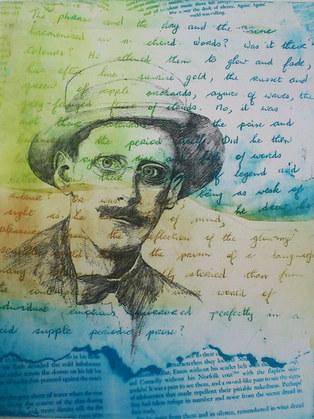 'Words' Joyce,  Portrait of the Artist 2