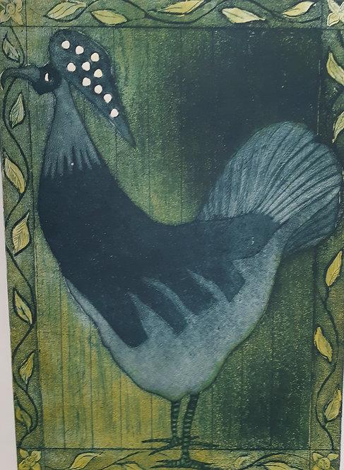 """""""Spotted Crest"""", Margaret Becker"""