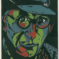 """Patrick Kavanagh"", Lino Reduction Method, 20 x 15cm, ed of 16, Sheelyn Browne.jpg"