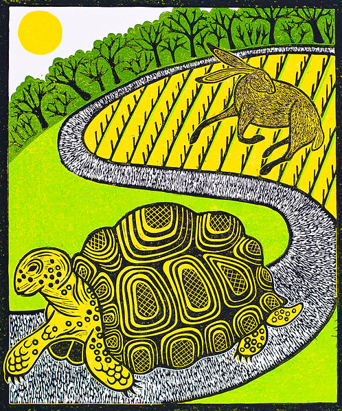 'The Tortoise and The Hare', Rebecca Homfray
