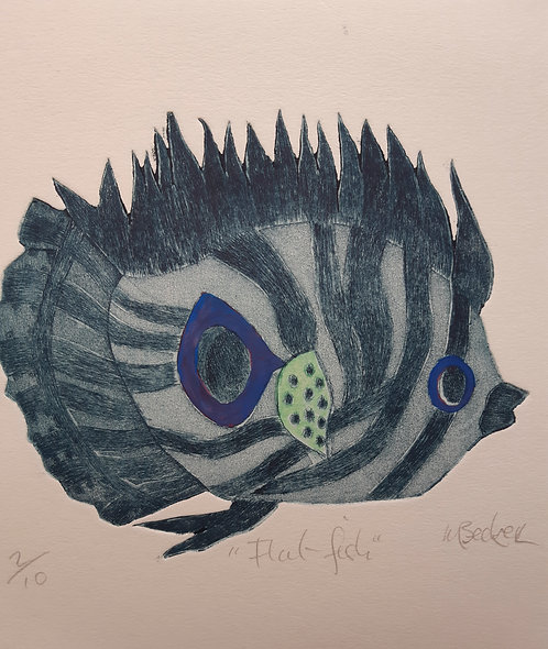 """Flat Fish"", Margaret Becker"