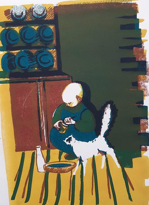 'Feeding Time', Margaret Becker