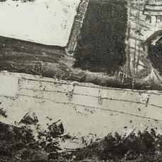"""Docklands Dream"", Etching, 17 x 22cm, Edition of 5, Regina Richardson"