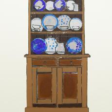 """""""Dresser,"""" Edition of 10vp , Screenprint, 25 x 14cm,  Bernadette Madden"""