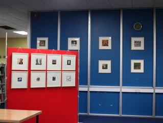 Exhibition and Workshop in Coolock Library, Dublin
