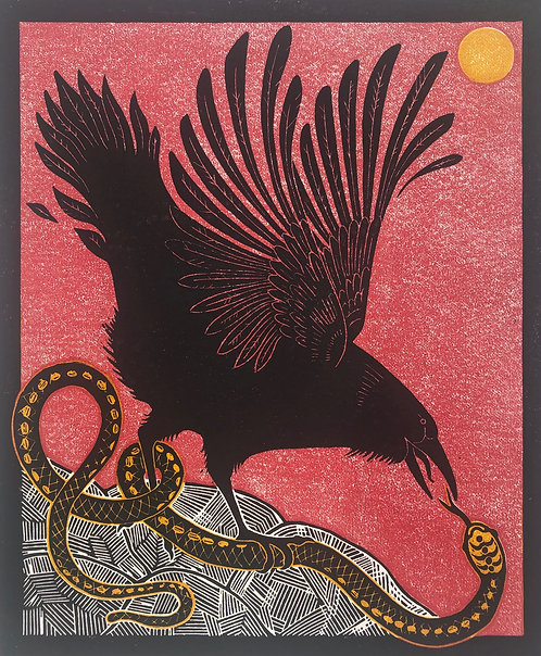 'The Raven and The Serpent', Rebecca Homfray