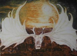 """""""Bogland 2 (Irish Elk)"""""""