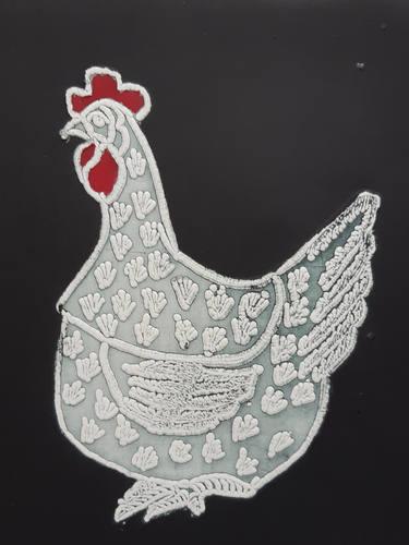 Lace Hen