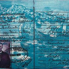 """Oswald 1, Steam Drifter"", photo-etch, edition of 5, 25 x 33cm, William Finnie"