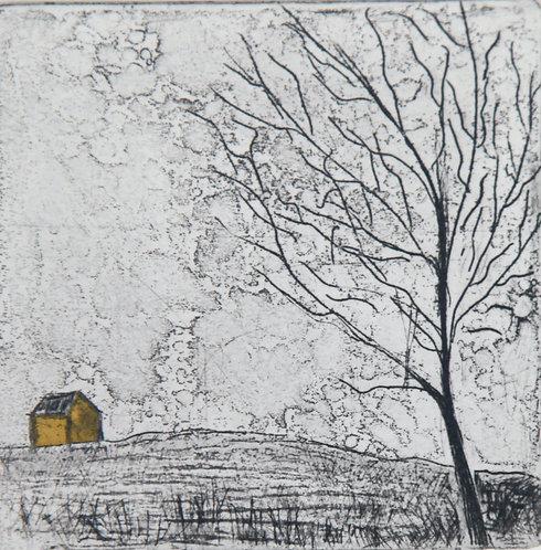 """""""Golden Barn"""", Pamela de Brí"""