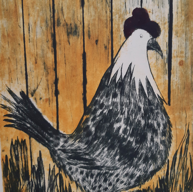 Spotted Hen