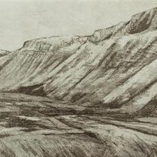 """""""Sligo Series #2"""", Etching, Edition of 5, 22 x 35cm,  Nuala O'Dea"""