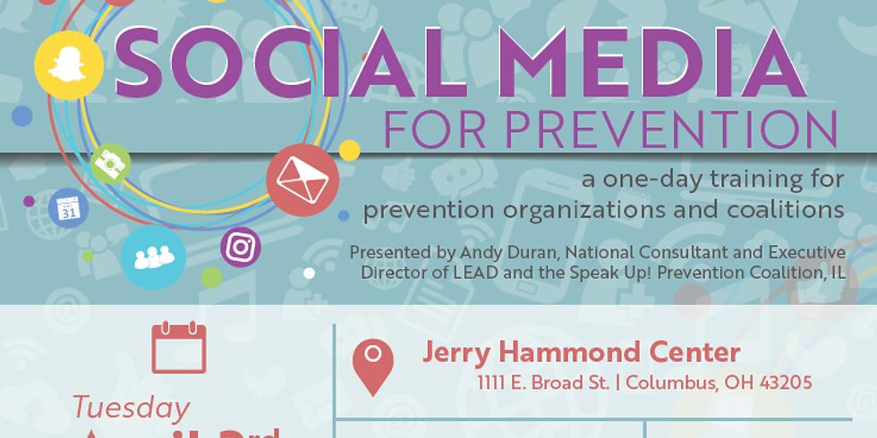Social Media for Prevention Training