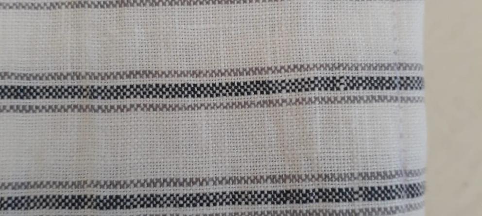 3 stripe Linen