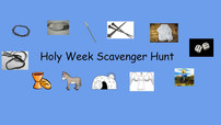 Church School Lesson for Home: Scavenger Hunt!