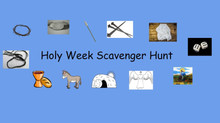 Church School Lesson for Home: Scavenger Hunt!