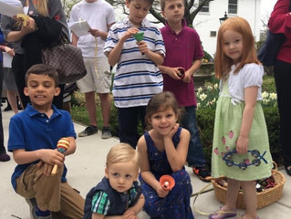Church School Lessons From Home: A Holy Week Scavenger Hunt