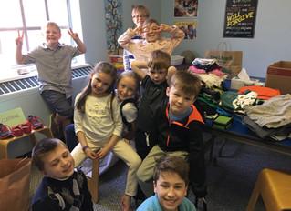 Our Church School Lenten Service Project