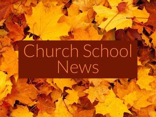 Church School News: Preparing for Sunday