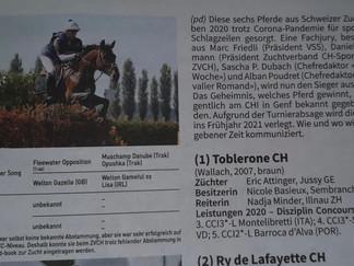 Schöggeli zum CH-Pferd des Jahres nominiert