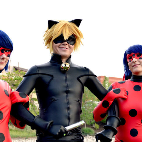 Photo by Antarctic Storm Photography Modeled by Chloe,  LunaLen, and Topher  Made by Chloe and LunaLen