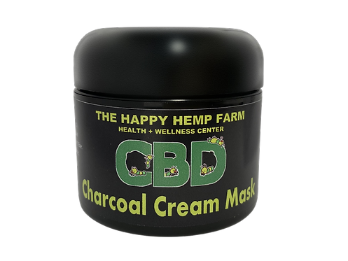 Charcoal Cream Mask 2000mg
