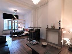 The Panton room.B&B Quatre20cinq