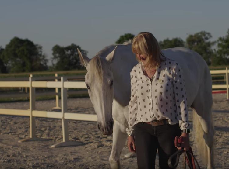 Valérie Calvet en atelier equinovent
