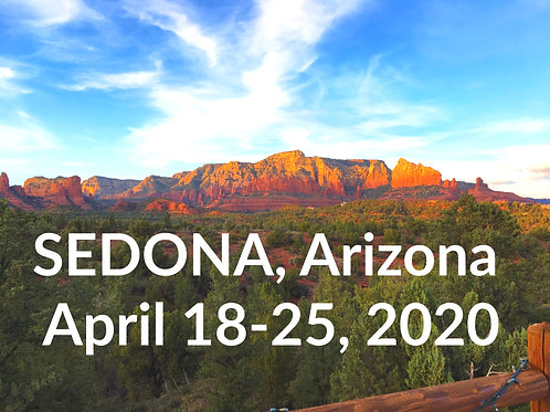 Sedona - April 2020 SOLD OUT