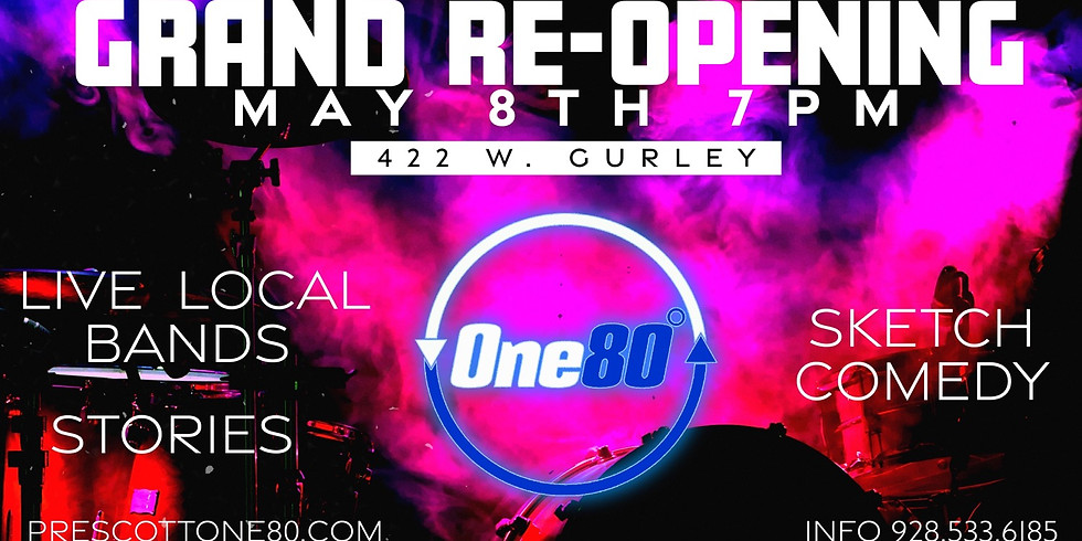 One80° Grand Reopening Live Concert and Sketch Skits